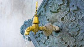 Türkischer Osmaneart-Wasserhahn stockfoto