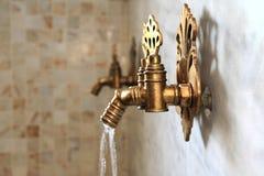Türkischer Osmaneart-Wasserhahn lizenzfreies stockfoto
