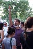 Türkischer Protest in Ankara Lizenzfreie Stockbilder