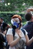 Türkischer Protest in Ankara Lizenzfreie Stockfotos