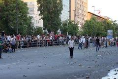 Türkischer Protest in Ankara Lizenzfreie Stockfotografie