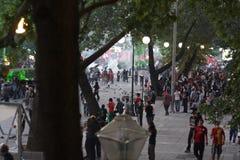 Türkischer Protest in Ankara Stockfoto