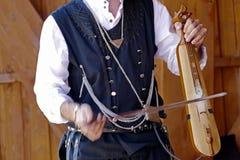 Türkischer Sänger Stockbild