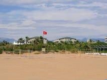 Türkischer Strand Lizenzfreie Stockfotos