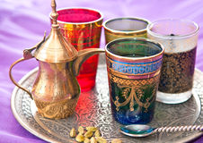 Türkischer Tee stockbilder
