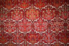 Türkischer Teppich mit Muster Lizenzfreies Stockbild