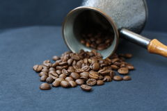 Türkischer Topf Kaffee Lizenzfreie Stockbilder