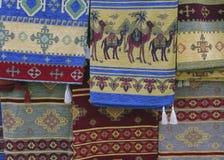 Türkischer Wolldecke-Verkäufer Lizenzfreie Stockbilder