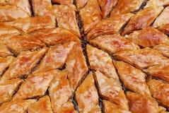 Türkisches Baklava Stockfotografie