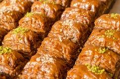 Türkisches Baklava Stockbild
