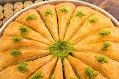 Türkisches Baklava lizenzfreie stockbilder