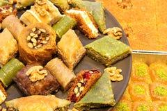 Türkisches Baklava lizenzfreies stockfoto