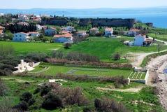 Türkisches Dorf Lizenzfreies Stockbild