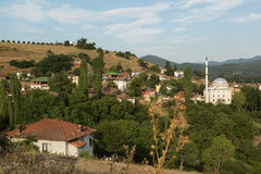 Türkisches Dorf Lizenzfreie Stockfotos