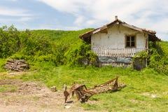 Türkisches Dorf-Haus Stockbild