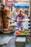 Türkisches Dreh auf der Straße in Istanbul, die Türkei lizenzfreie stockfotografie