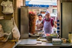Türkisches Dreh auf der Straße in Istanbul, die Türkei stockfotografie
