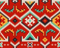 Türkisches ethnisches Muster für Textilentwurf lizenzfreie stockfotografie