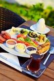 Türkisches Frühstück Lizenzfreies Stockbild
