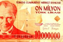 Türkisches Geld 83 Stockfotografie