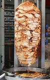 Türkisches Huhn doner kebab stockbild