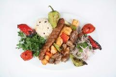 Türkisches kebab Stockfotografie