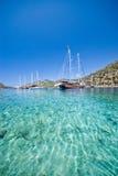 Türkisches Mittelmeer Stockfotos