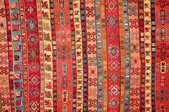 Türkisches Teppichmuster Stockbild