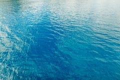 Türkiswasser im Ägäischen Meer Abstraktion: Hintergrund, Text Stockfotos