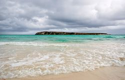 Türkiswasser im Keil-Insel-Strand, West-Australien Stockbild