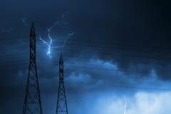 Türme der Energie Lizenzfreies Stockfoto