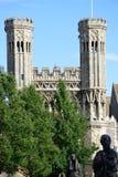 Türme am Eingang von Abtei St. Augustines Stockbild