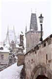 Türme von altem Prag Lizenzfreies Stockfoto