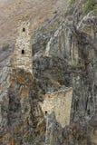 Türme von Inguschetien. Alte Architektur und Ruinen Lizenzfreie Stockfotos