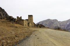 Türme von Inguschetien. Alte Architektur und Ruinen Lizenzfreie Stockbilder