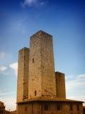 Türme von San Gimignano Lizenzfreie Stockbilder
