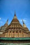 Türme von Wat Pho Stockbilder