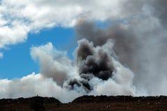 Türmender Rauch Lizenzfreies Stockbild