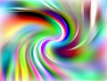 Tęcz kółkowe linie, abstrakcjonistyczny tło Obrazy Royalty Free