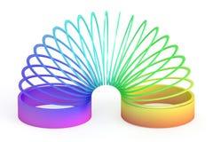 Tęcza barwiąca klingeryt zabawka, 3D rendering royalty ilustracja