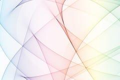 tęcza kolorów łuków energii Royalty Ilustracja