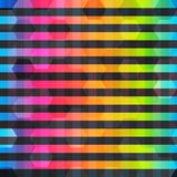 Tęcza koloru linii bezszwowy wzór royalty ilustracja