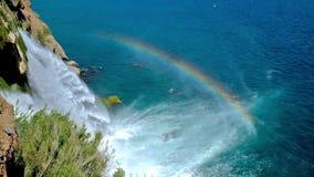 Tęcza nad Niską Duden siklawą zdjęcie wideo