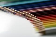 Tęcza ołówki Obraz Stock