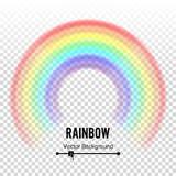 Tęcza okręgu elementu wektor Koloru widmo Kolorowy round element Homoseksualista, homoseksualny symbol Abstrakcjonistyczna tęczy  Zdjęcie Royalty Free