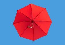 Tęcza parasol na niebie zdjęcia royalty free