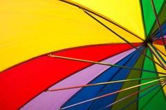 tęcza parasolkę Obraz Royalty Free