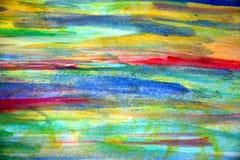 Tęcza pastelowi kolory i abstrakcjonistyczny tło Zdjęcie Royalty Free