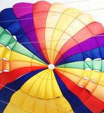 Tęcza spadochron zdjęcia royalty free