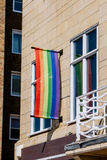 Tęczy flaga Fotografia Stock
